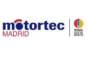 Logo MOTORTEC MADRID 2020 con Feria de Madrid