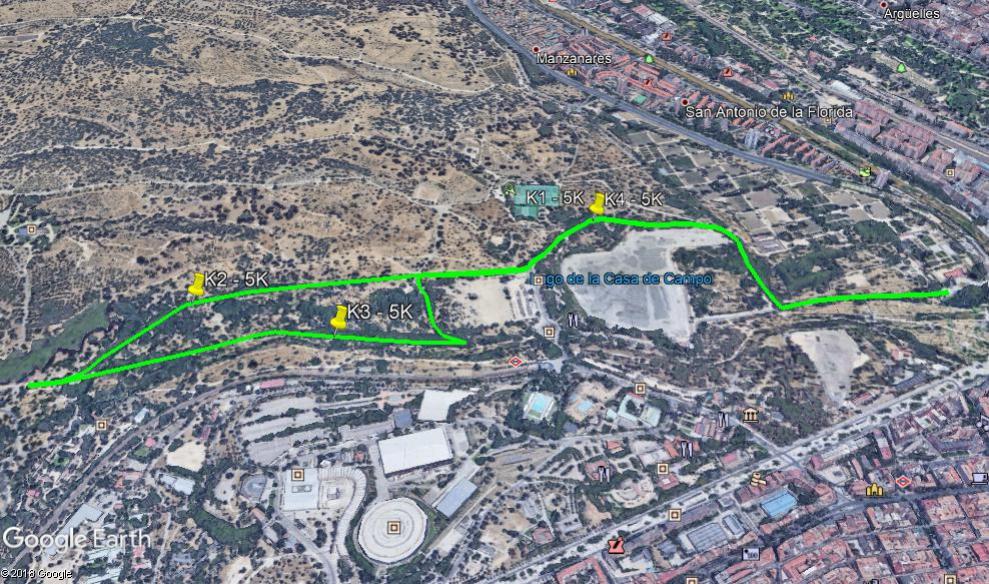 Recorrido X Carrera del Taller 5K 2020