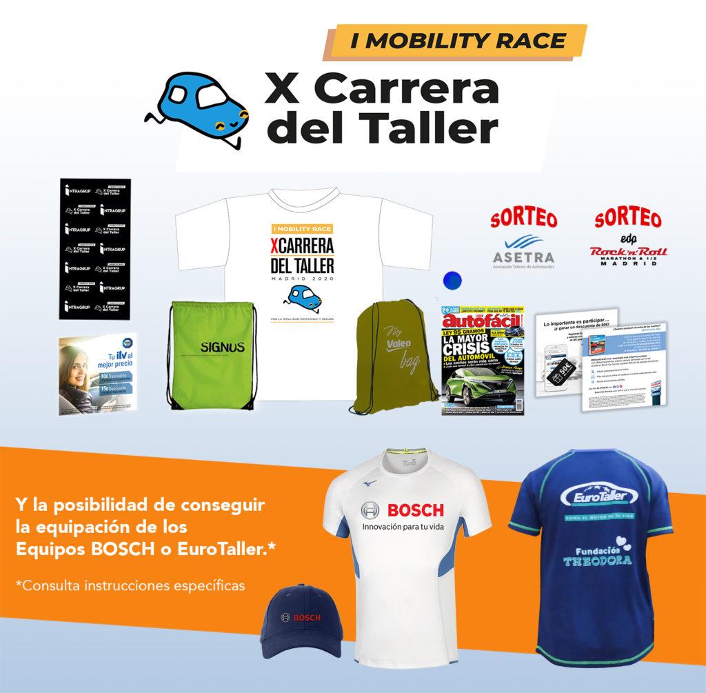 BOLSA DEL CORREDOR X CARRERA DEL TALLER I MOBILITY Race