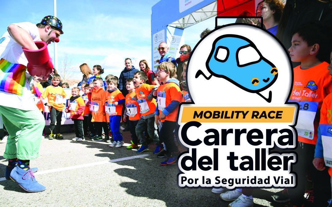PequeCarreras Mutua: Bolsa del corredor y medalla para todos los participantes de la I Mobility Race X Carrera del Taller