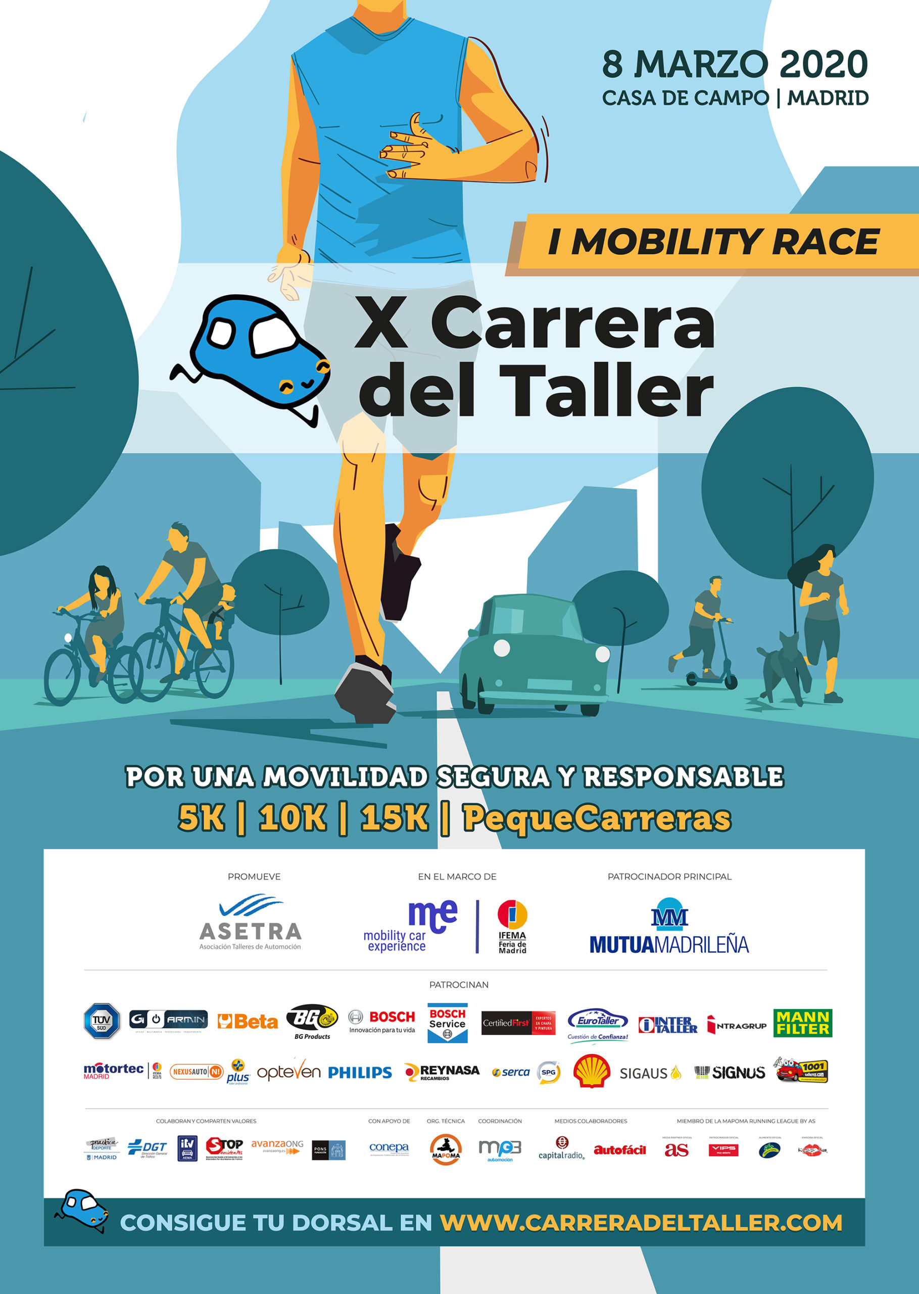 X Carrera del Taller - Cartel