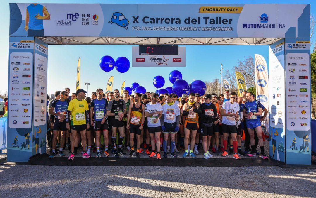 """Más de 3.000 corredores populares participaron en la """"I Mobility Race: X Carrera del Taller por la Movilidad Sostenible y Segura"""""""