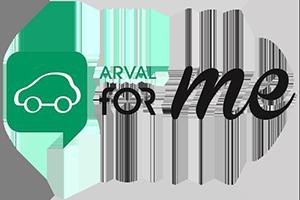 ARVAL for me logo